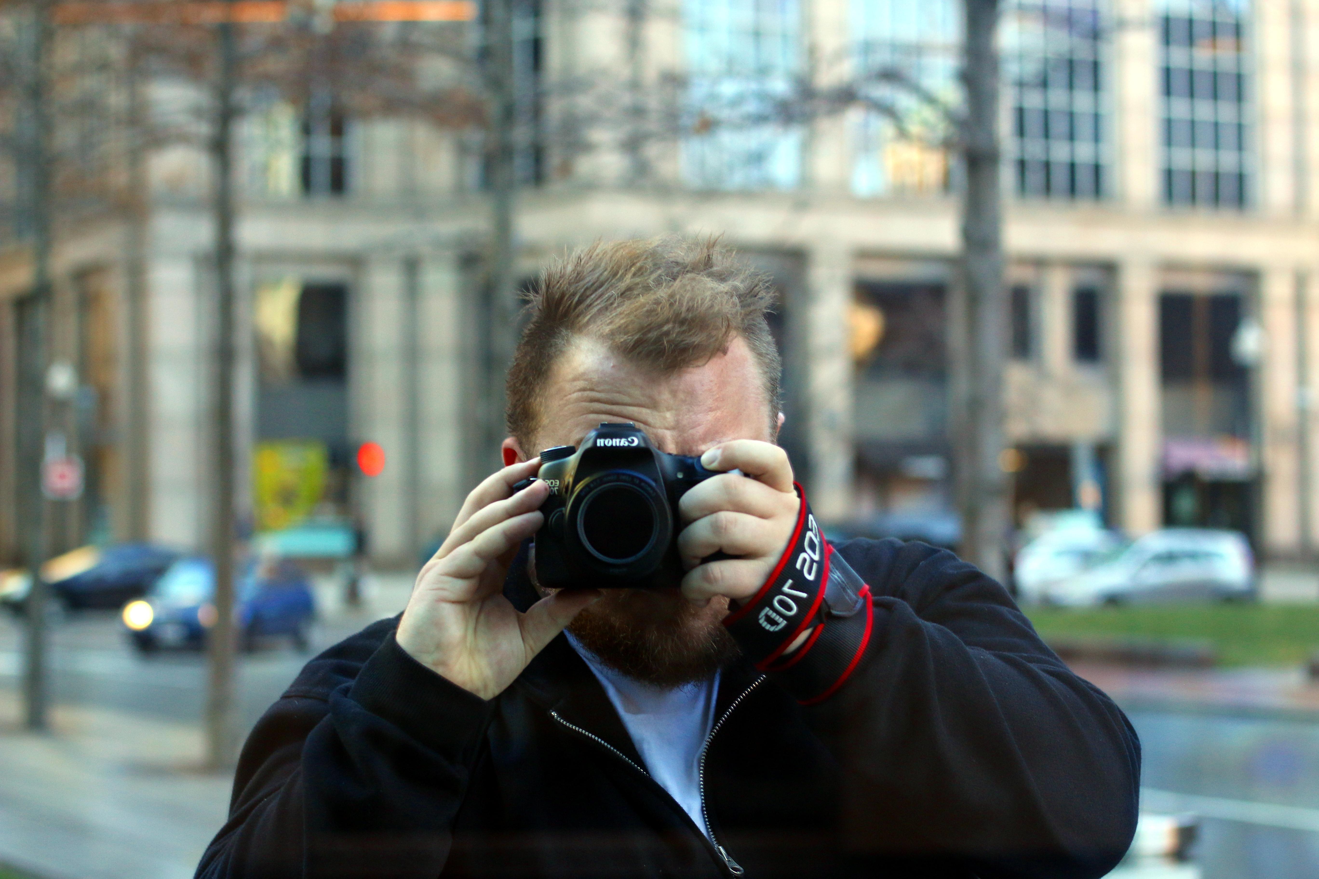 Et billede af mig - hvis i skulle være i tvivl.